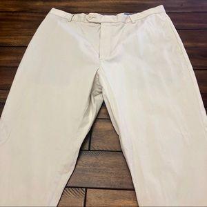 Cremieux Pale Khaki Pants 36x32